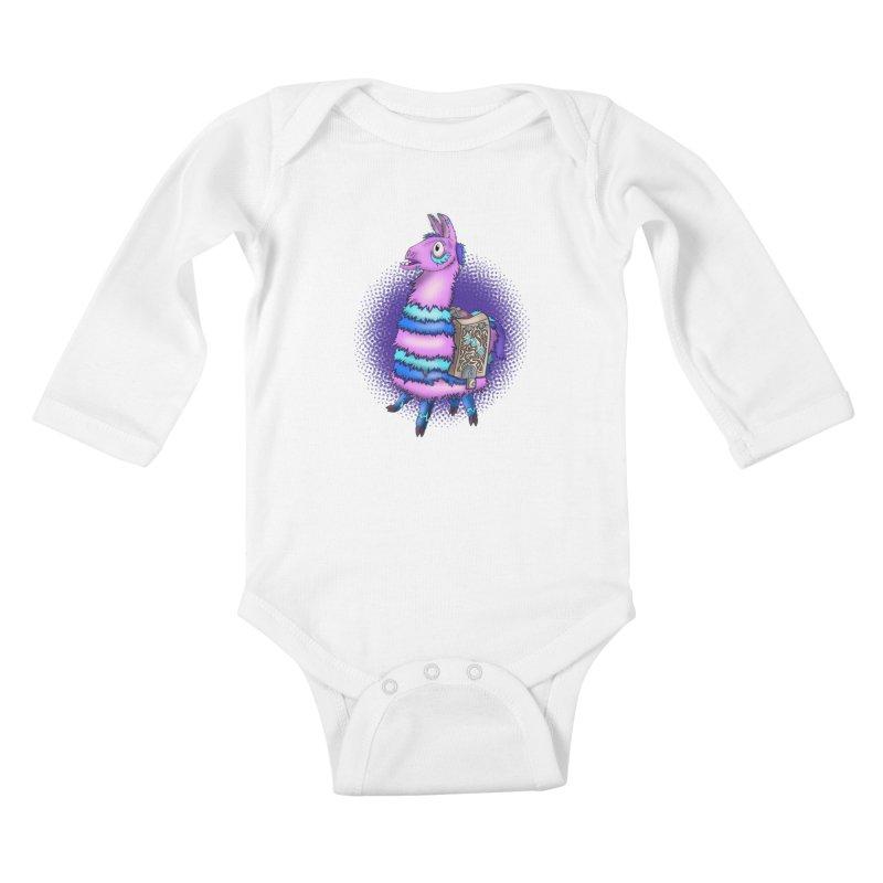 LOOT Kids Baby Longsleeve Bodysuit by greenlambart's Artist Shop