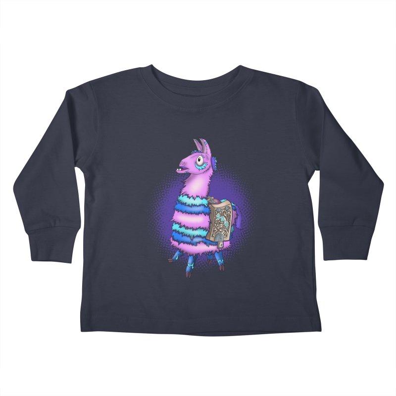 LOOT Kids Toddler Longsleeve T-Shirt by greenlambart's Artist Shop