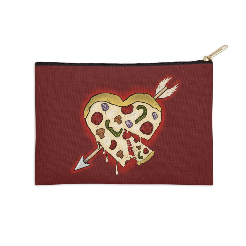 PIZZA MY HEART Accessories Zip Pouch by greenlambart's Artist Shop