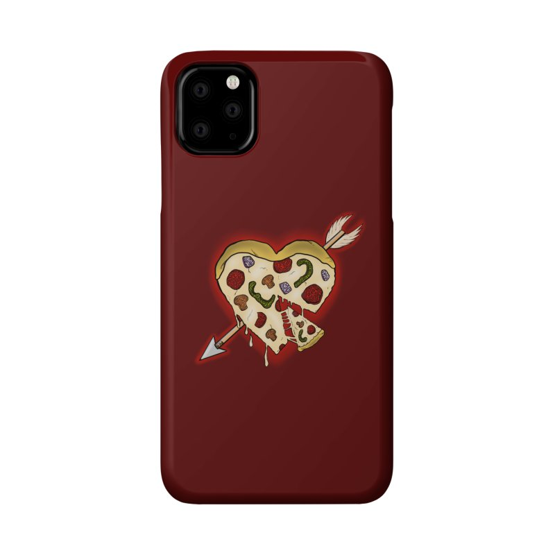 PIZZA MY HEART Accessories Phone Case by greenlambart's Artist Shop