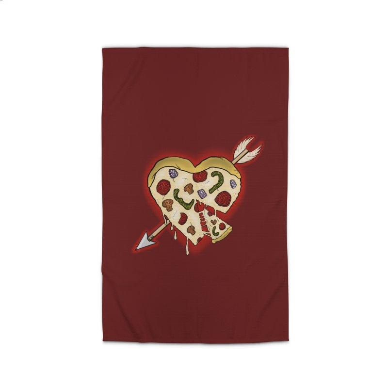 PIZZA MY HEART Home Rug by greenlambart's Artist Shop
