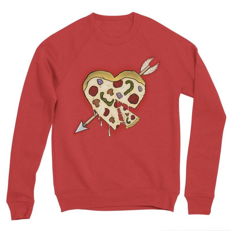 PIZZA MY HEART Women's Sweatshirt by greenlambart's Artist Shop