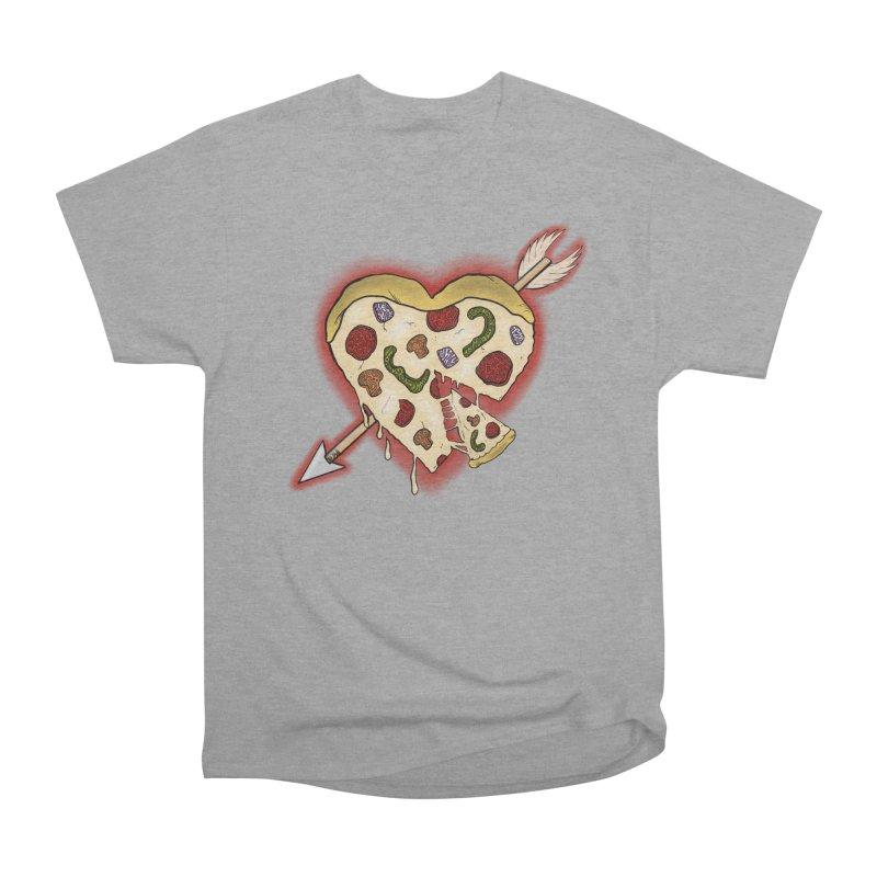 PIZZA MY HEART Men's Heavyweight T-Shirt by greenlambart's Artist Shop