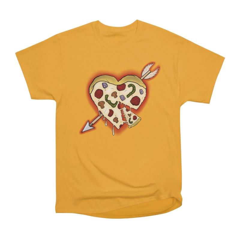 PIZZA MY HEART Men's T-Shirt by greenlambart's Artist Shop