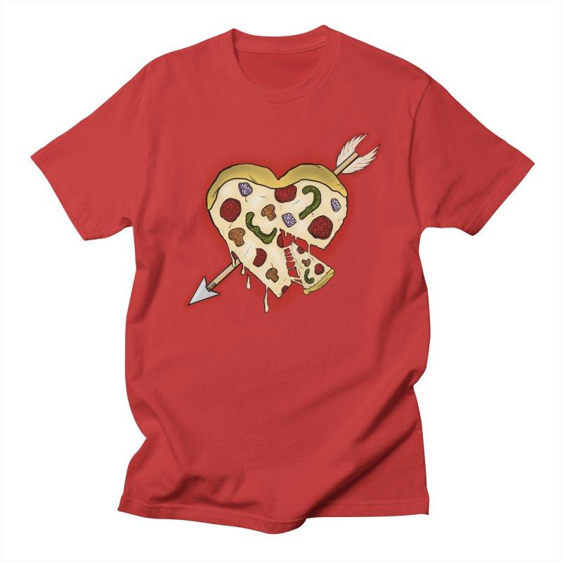 PIZZA MY HEART Women's Regular Unisex T-Shirt by greenlambart's Artist Shop