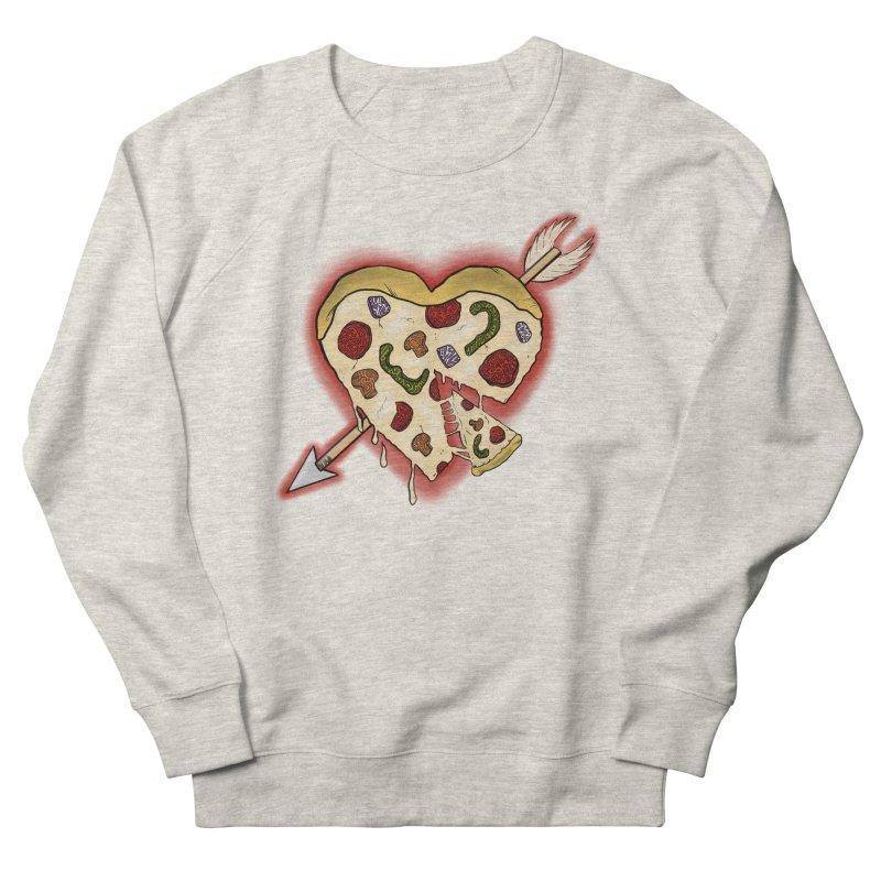PIZZA MY HEART Men's Sweatshirt by greenlambart's Artist Shop