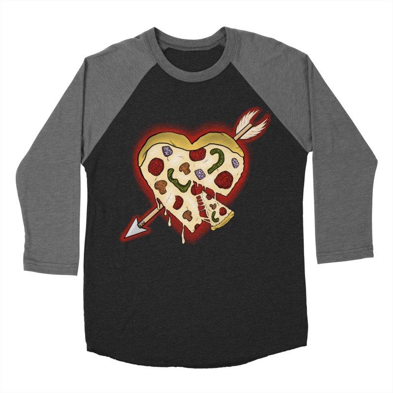 PIZZA MY HEART Women's Longsleeve T-Shirt by greenlambart's Artist Shop
