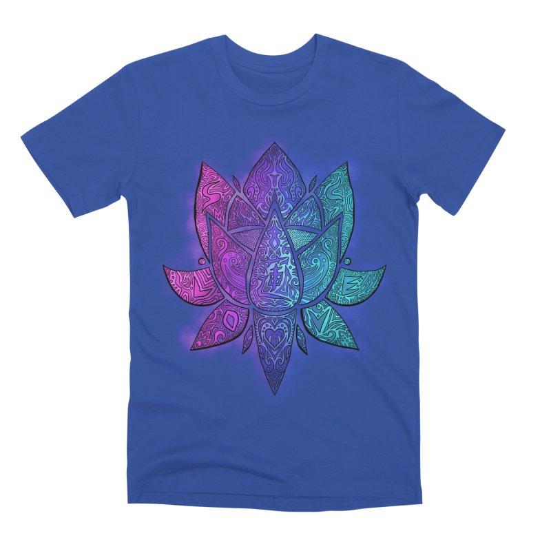 LOTUS Men's T-Shirt by greenlambart's Artist Shop