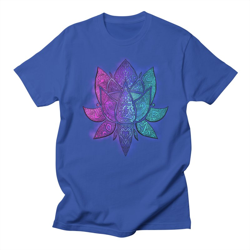 LOTUS Men's T-Shirt by greenlambart's Artist Shop