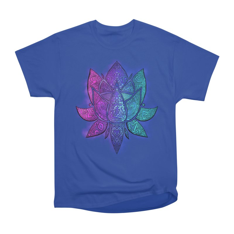 LOTUS Women's Heavyweight Unisex T-Shirt by greenlambart's Artist Shop