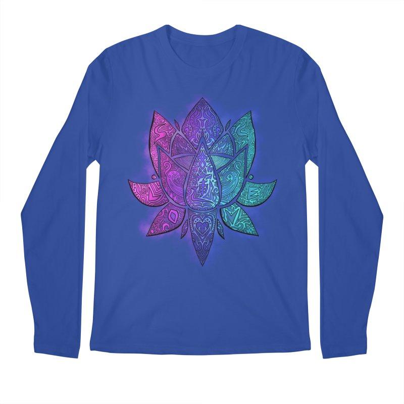 LOTUS Men's Regular Longsleeve T-Shirt by greenlambart's Artist Shop