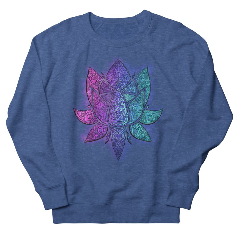 LOTUS Women's Sweatshirt by greenlambart's Artist Shop