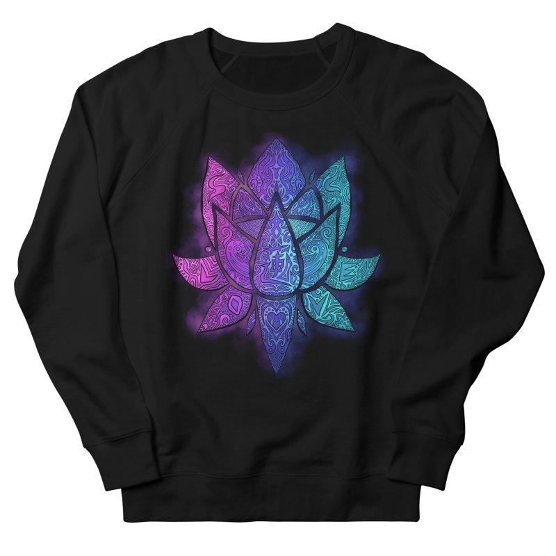 LOTUS Women's French Terry Sweatshirt by greenlambart's Artist Shop