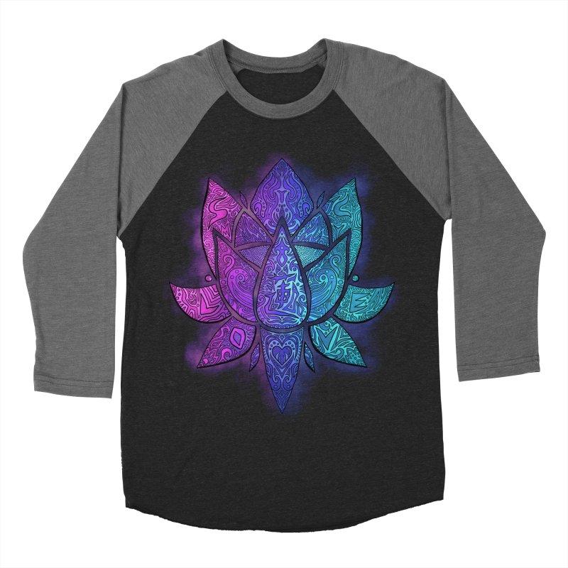 LOTUS Women's Longsleeve T-Shirt by greenlambart's Artist Shop