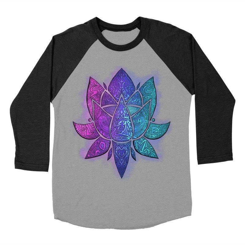 LOTUS Women's Baseball Triblend Longsleeve T-Shirt by greenlambart's Artist Shop