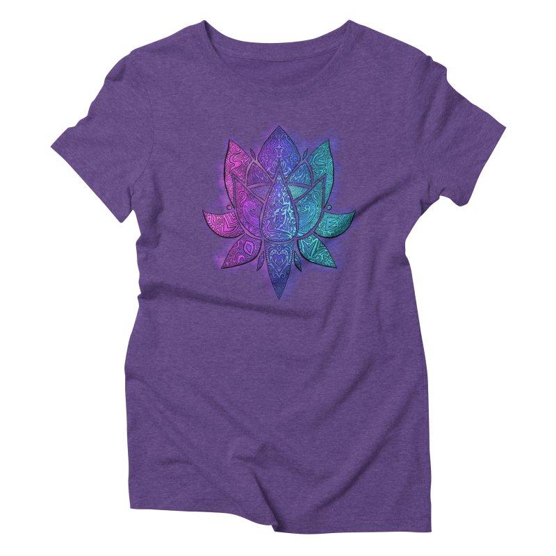 LOTUS Women's T-Shirt by greenlambart's Artist Shop
