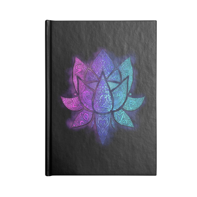 LOTUS Accessories Lined Journal Notebook by greenlambart's Artist Shop
