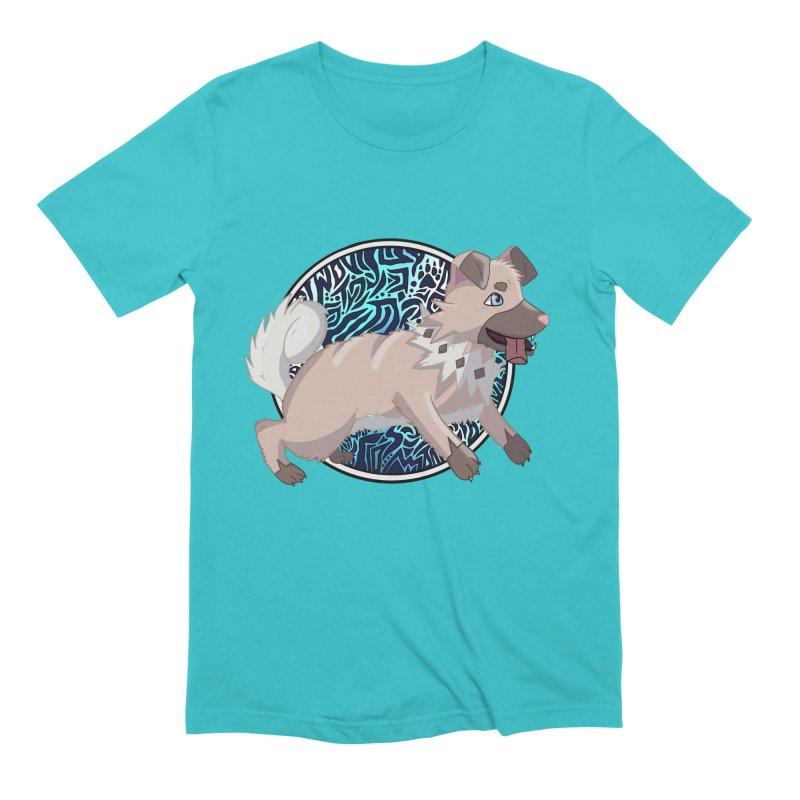 ROCK PUPPER Men's Extra Soft T-Shirt by greenlambart's Artist Shop