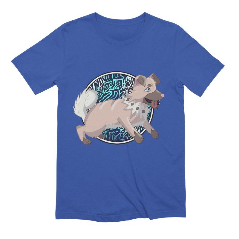 ROCK PUPPER Men's T-Shirt by greenlambart's Artist Shop
