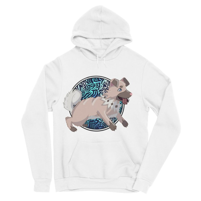 ROCK PUPPER Women's Pullover Hoody by greenlambart's Artist Shop