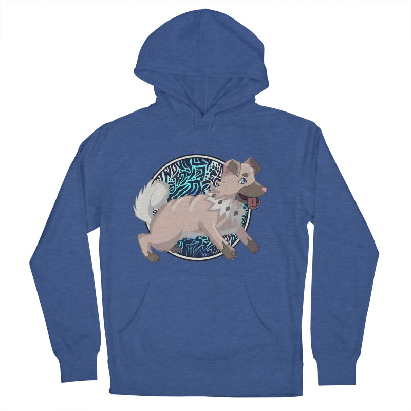 ROCK PUPPER Men's French Terry Pullover Hoody by greenlambart's Artist Shop