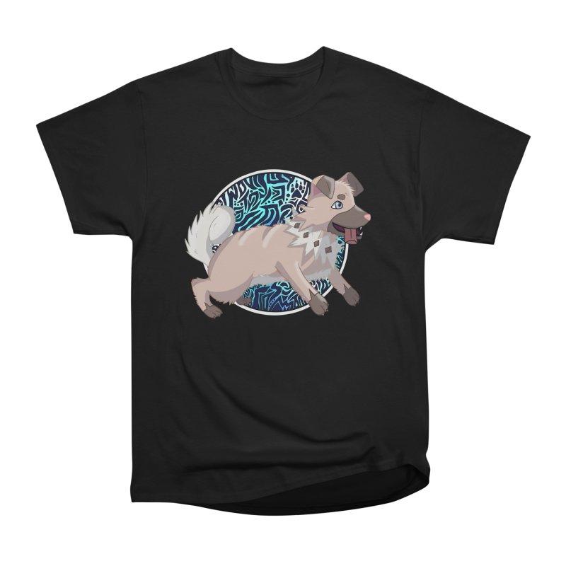 ROCK PUPPER Men's Heavyweight T-Shirt by greenlambart's Artist Shop