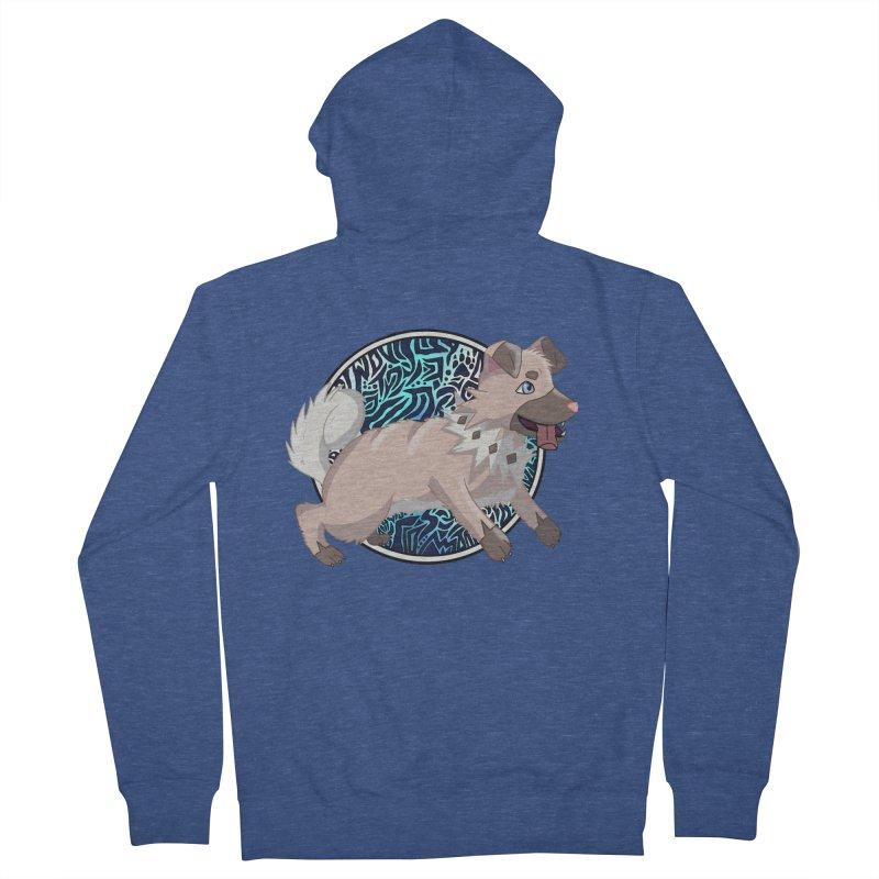 ROCK PUPPER Women's French Terry Zip-Up Hoody by greenlambart's Artist Shop