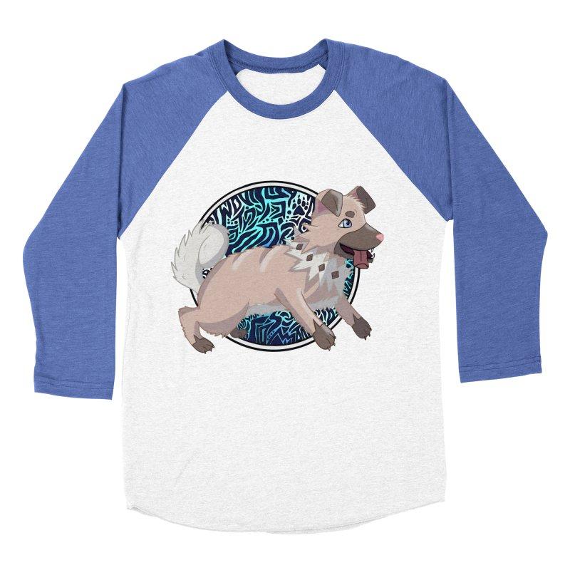 ROCK PUPPER Women's Baseball Triblend Longsleeve T-Shirt by greenlambart's Artist Shop