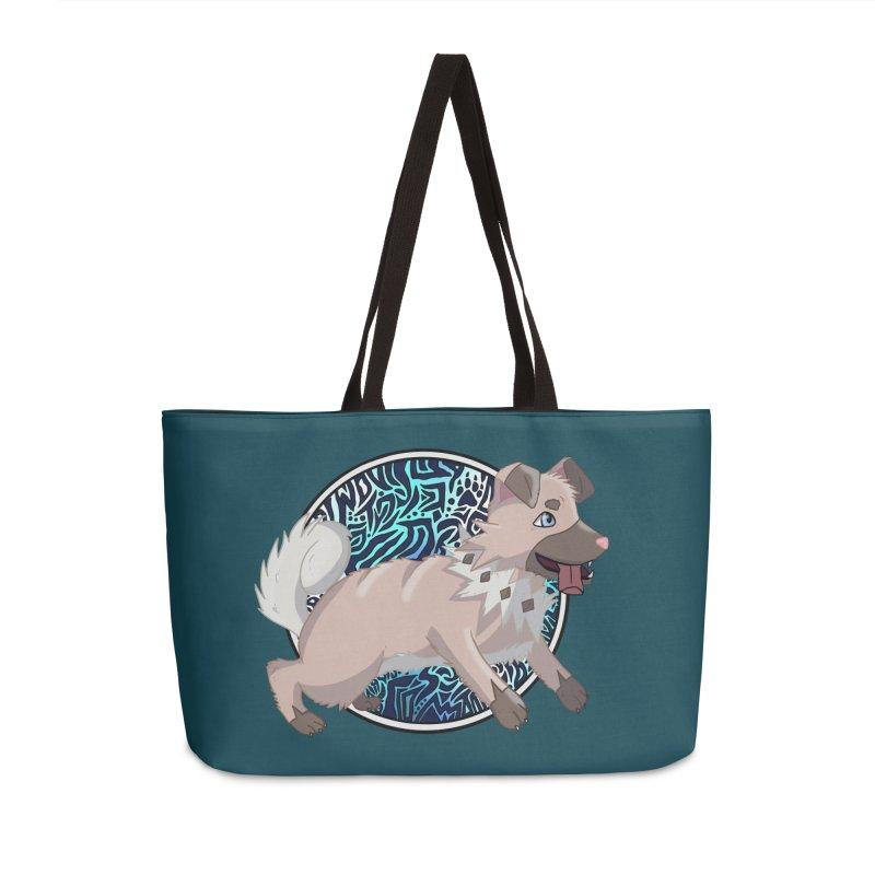 ROCK PUPPER Accessories Weekender Bag Bag by greenlambart's Artist Shop