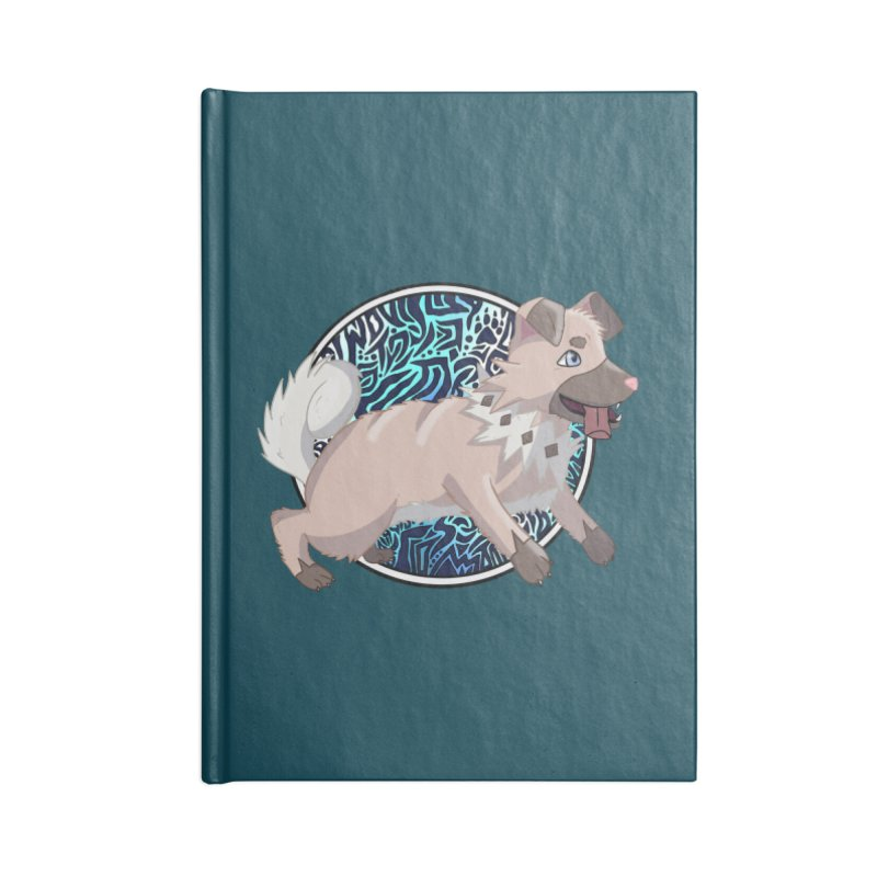ROCK PUPPER Accessories Notebook by greenlambart's Artist Shop