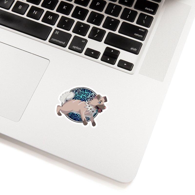 ROCK PUPPER Accessories Sticker by greenlambart's Artist Shop