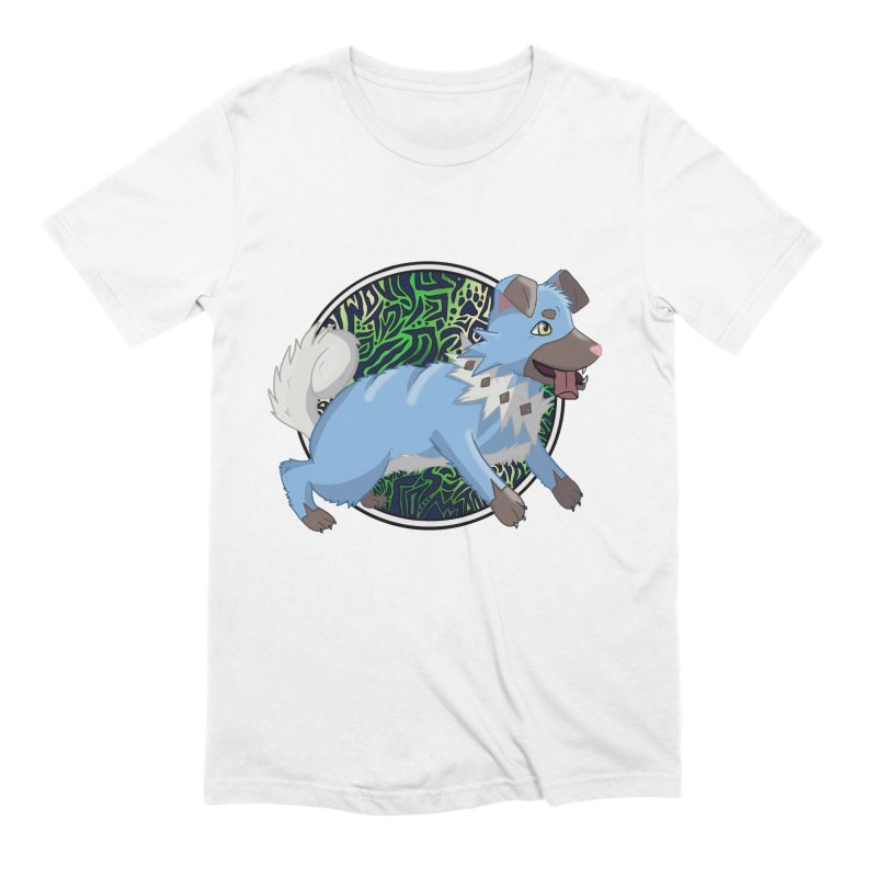 SHINY ROCK PUPPER Men's Extra Soft T-Shirt by greenlambart's Artist Shop