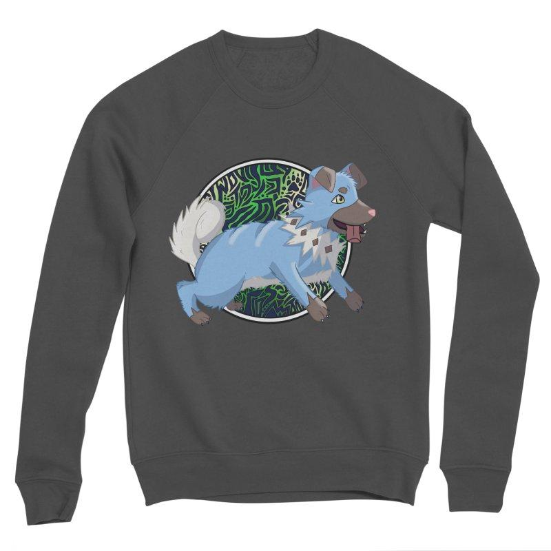 SHINY ROCK PUPPER Men's Sponge Fleece Sweatshirt by greenlambart's Artist Shop