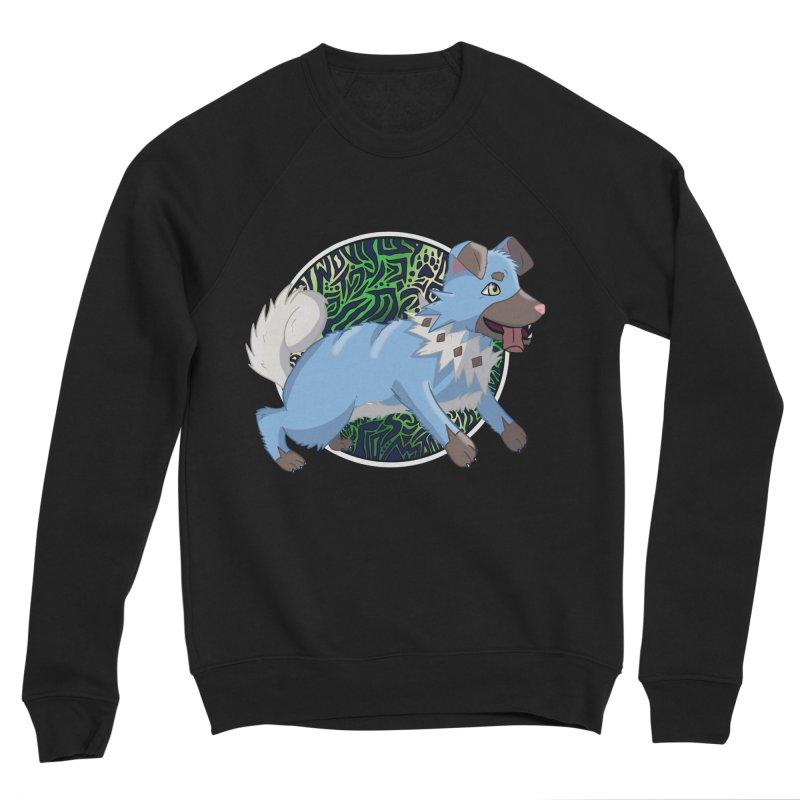 SHINY ROCK PUPPER Women's Sponge Fleece Sweatshirt by greenlambart's Artist Shop