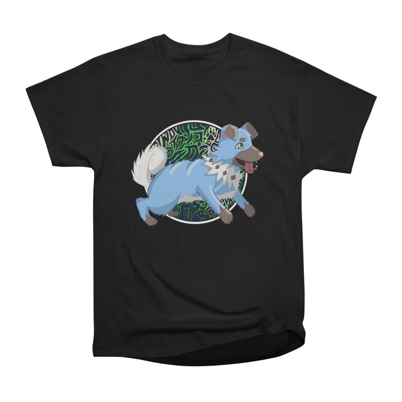 SHINY ROCK PUPPER Men's Heavyweight T-Shirt by greenlambart's Artist Shop