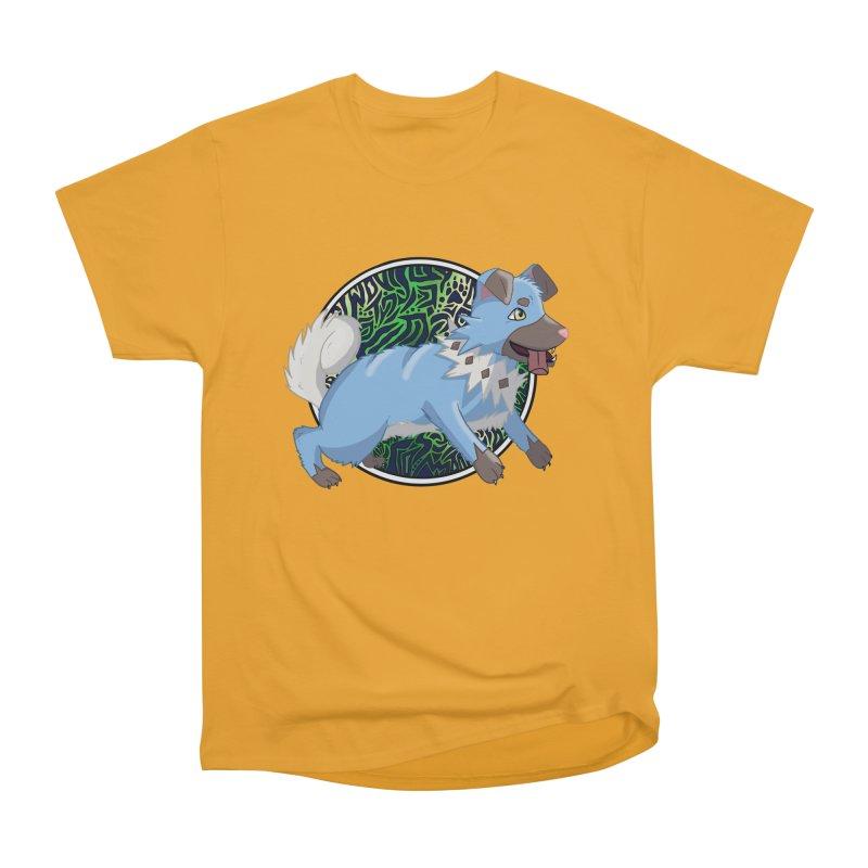 SHINY ROCK PUPPER Men's T-Shirt by greenlambart's Artist Shop