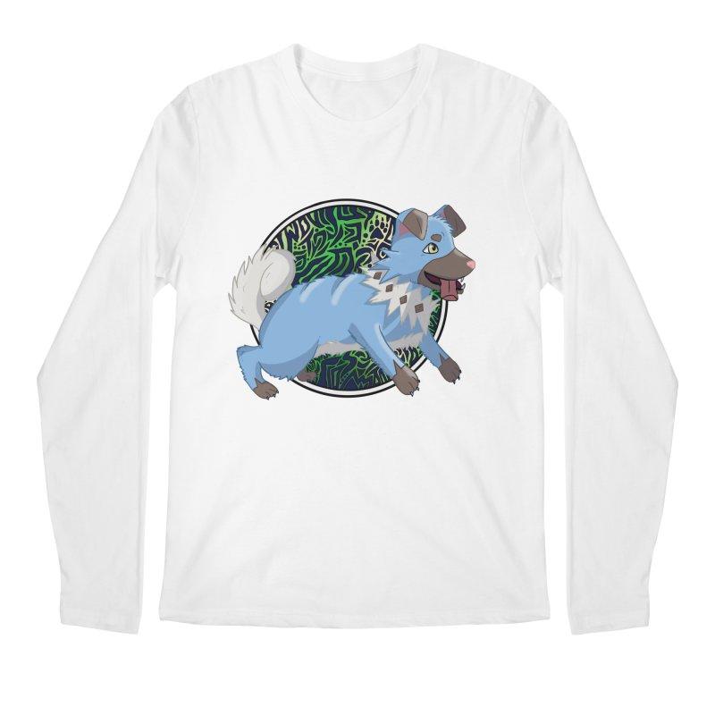 SHINY ROCK PUPPER Men's Regular Longsleeve T-Shirt by greenlambart's Artist Shop
