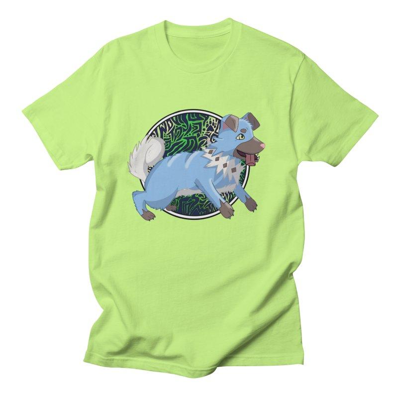 SHINY ROCK PUPPER Men's Regular T-Shirt by greenlambart's Artist Shop