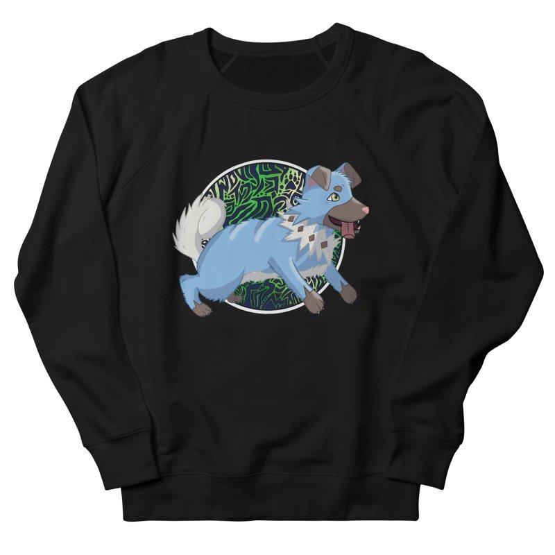 SHINY ROCK PUPPER Women's French Terry Sweatshirt by greenlambart's Artist Shop