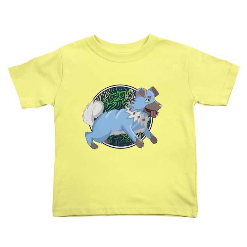 SHINY ROCK PUPPER Kids Toddler T-Shirt by greenlambart's Artist Shop