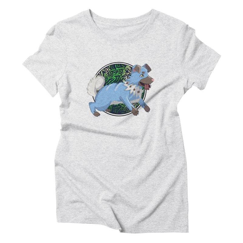 SHINY ROCK PUPPER Women's T-Shirt by greenlambart's Artist Shop