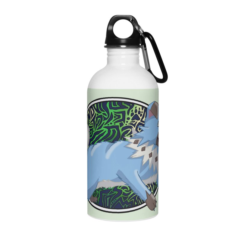 SHINY ROCK PUPPER Accessories Water Bottle by greenlambart's Artist Shop