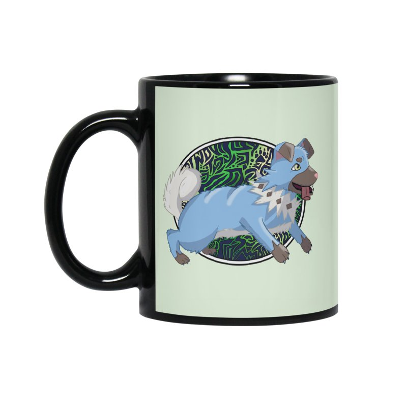 SHINY ROCK PUPPER Accessories Mug by greenlambart's Artist Shop