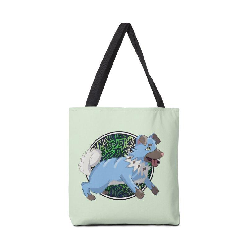 SHINY ROCK PUPPER Accessories Bag by greenlambart's Artist Shop