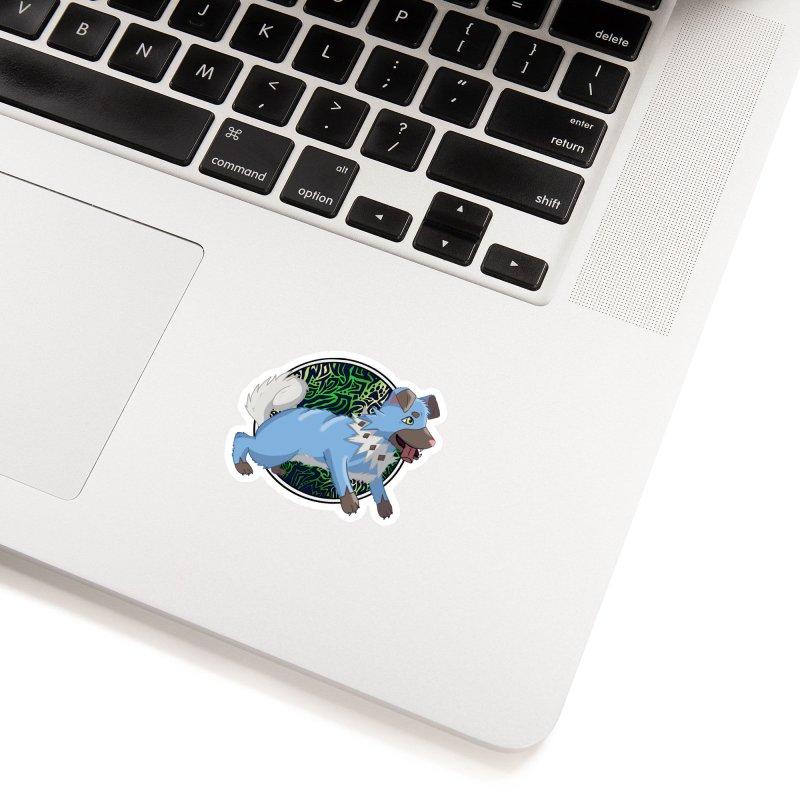 SHINY ROCK PUPPER Accessories Sticker by greenlambart's Artist Shop