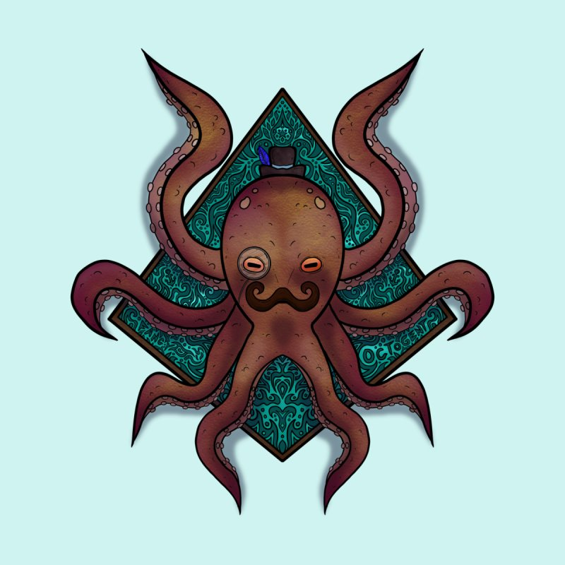 OCTOGENT Accessories Sticker by greenlambart's Artist Shop