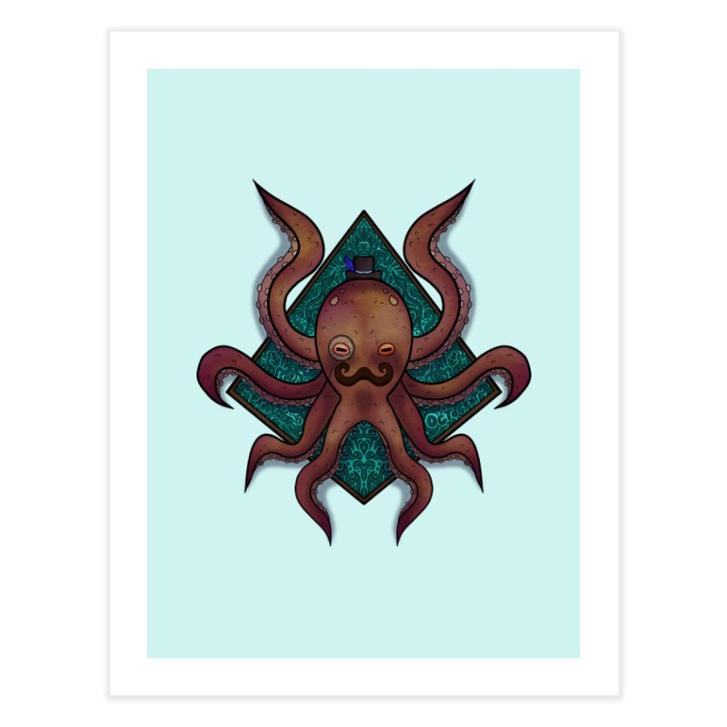 OCTOGENT Home Fine Art Print by greenlambart's Artist Shop