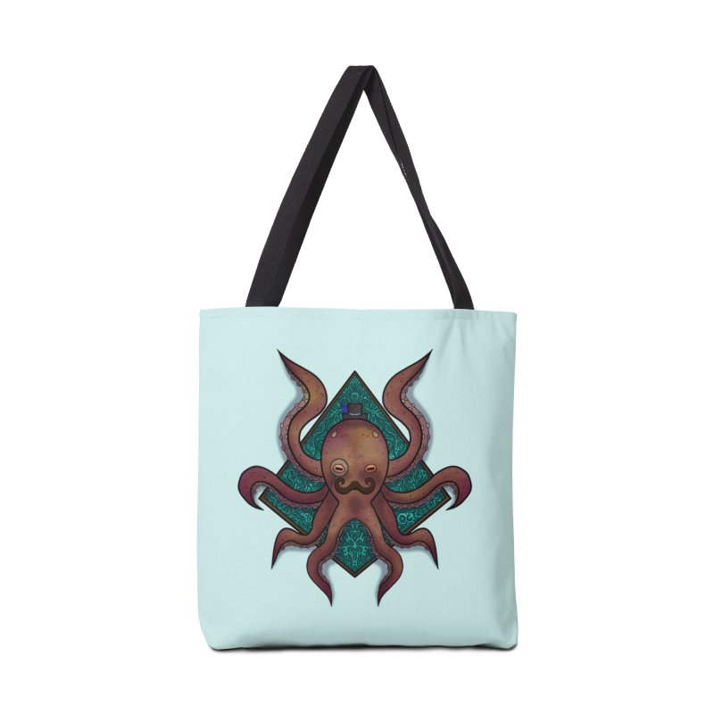 OCTOGENT Accessories Tote Bag Bag by greenlambart's Artist Shop