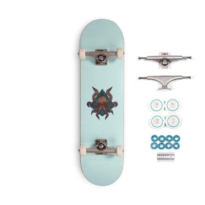 OCTOGENT Accessories Skateboard by greenlambart's Artist Shop