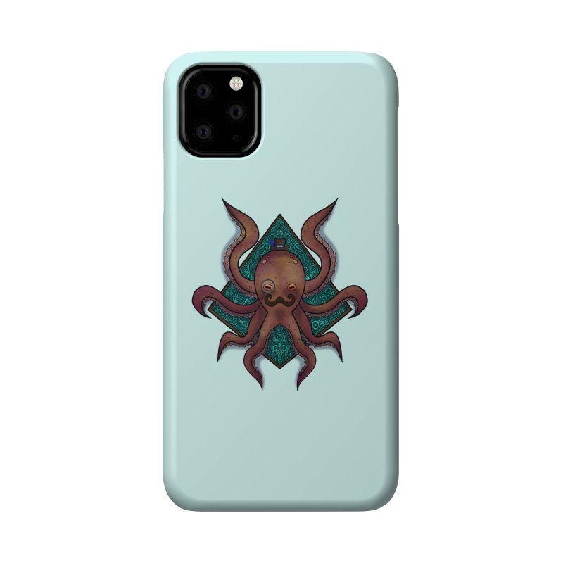OCTOGENT Accessories Phone Case by greenlambart's Artist Shop
